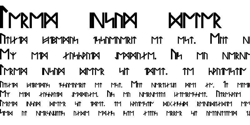 Sample of Runes Of Power