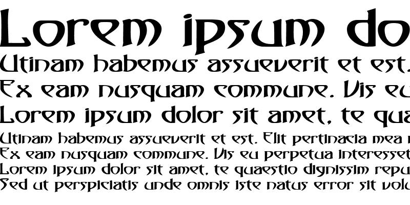 Sample of Saga-Expanded Bold