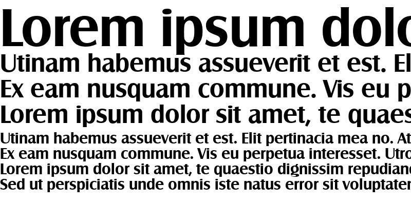 Sample of SalzburgSerial Bold