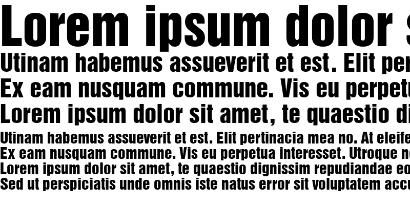 Sample of Sans Inserat