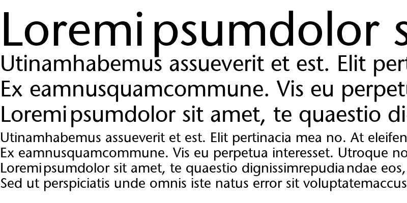 Sample of SapirSans
