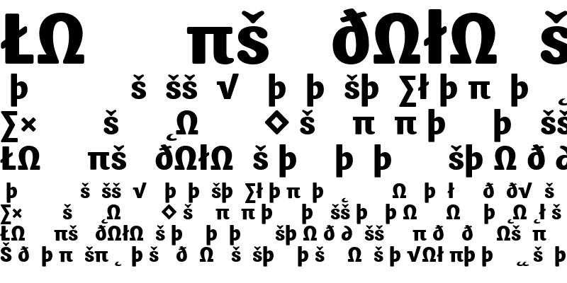 Sample of Sari ExtraBold