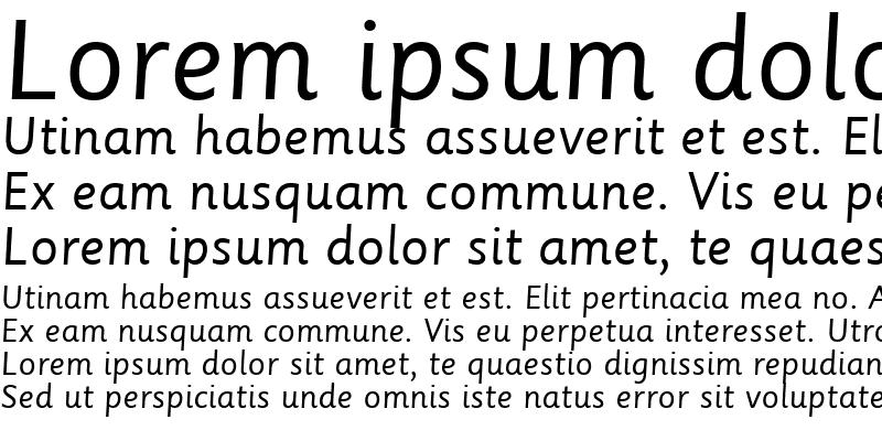 Sample of Sassoon