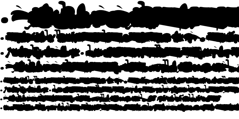 Sample of SaunaDingbats-Background