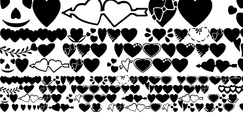 Sample of SC Hearts
