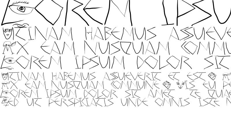 Sample of ScribbleDichFrei Regular