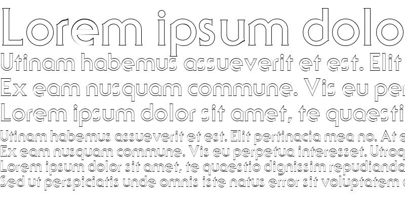 Sample of Serif