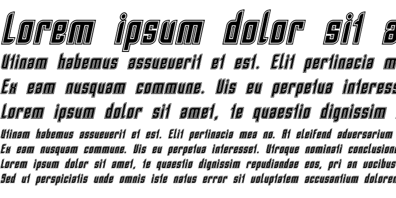 Sample of SF Piezolectric Inline Oblique