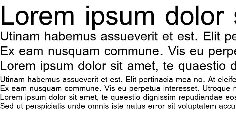 Sample of Simplified Arabic