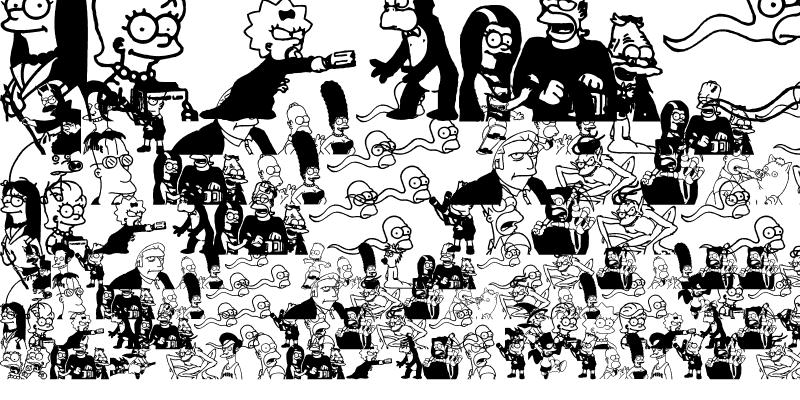 Sample of Simpsons Treehouse of Horror Regular