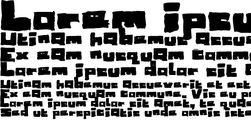 Sample of Sketchy Regular