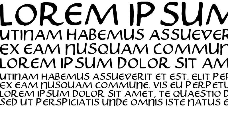 Sample of Skribus