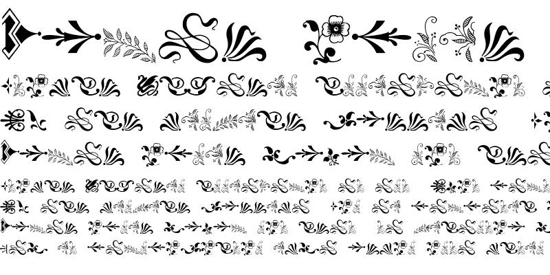 Sample of Solo Ornaments