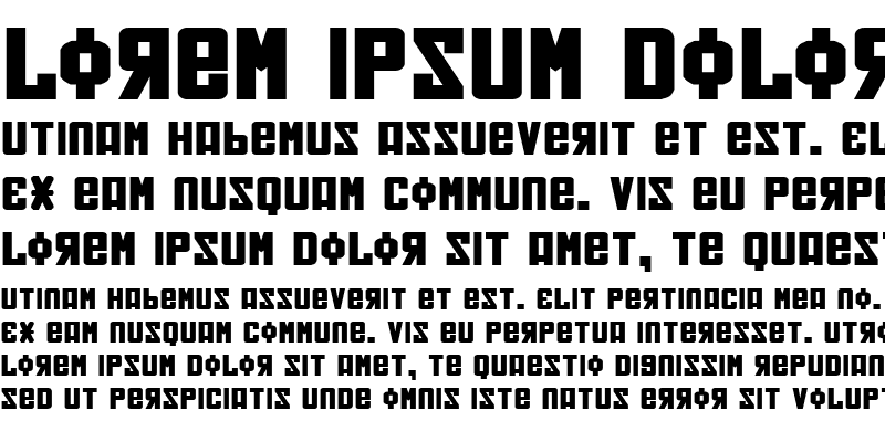 Sample of Soviet Bold Expanded