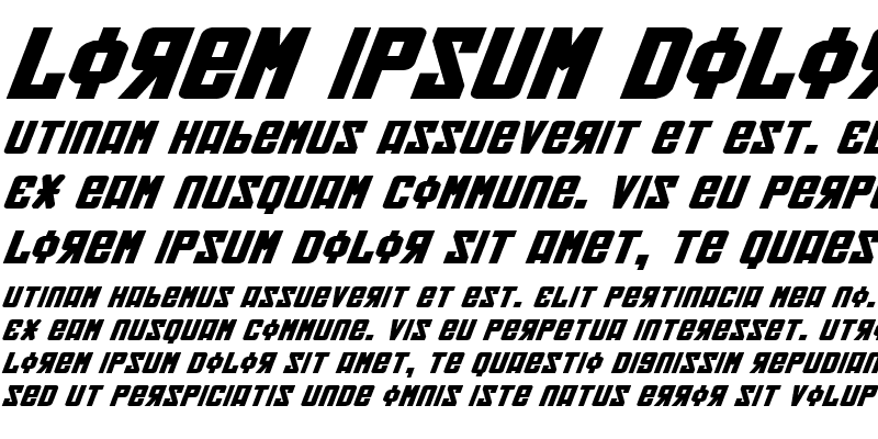 Sample of Soviet Bold ExpItal