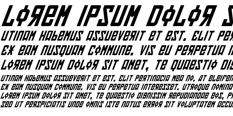 Sample of Soviet Italic