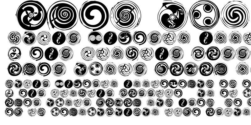 Sample of Spirals