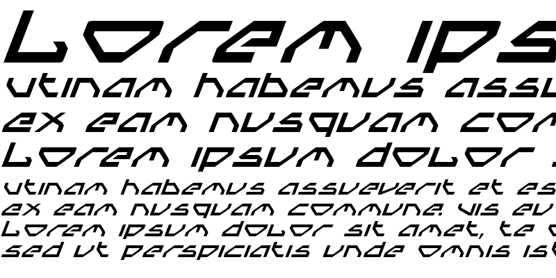 Sample of Spylord Italic