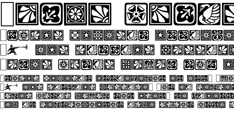 Sample of Square Ornaments Normal