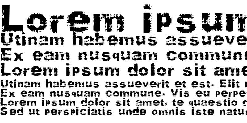 Sample of Stamp