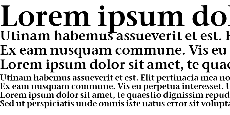 Sample of Stone Serif Sem OS ITCTT