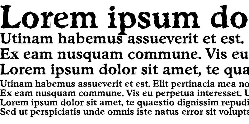 Sample of StratfordRandom Bold