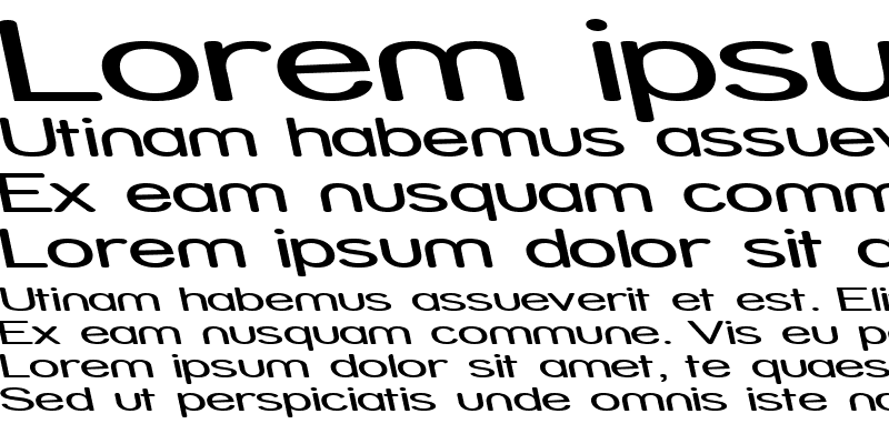 Sample of Street - Expanded Reverse Italic