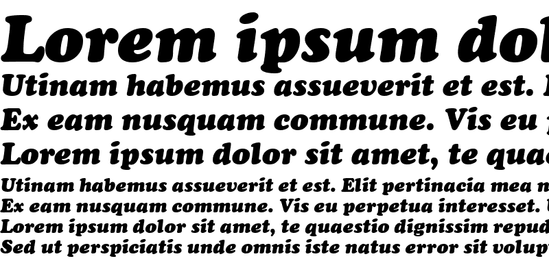 Sample of Sugarland Bold Italic