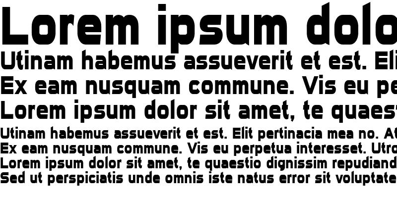 Sample of Sui Generis Condensed Bold