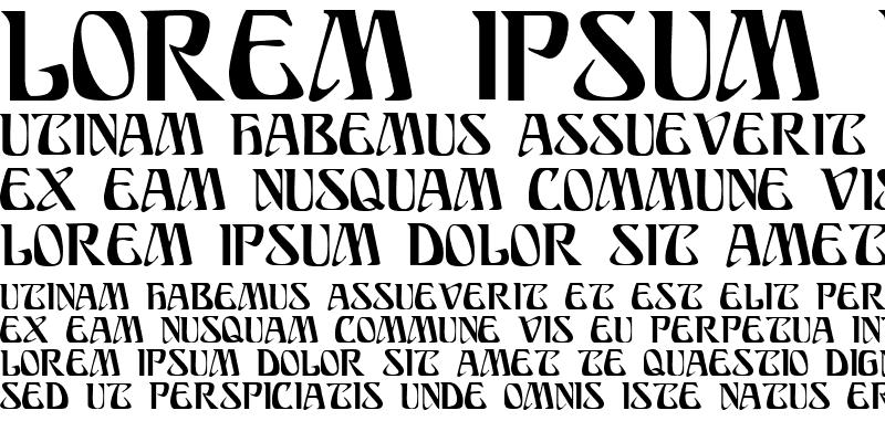 Sample of SundraDisplayCaps