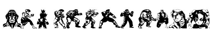 Preview of Super Street Fighter Hyper Fonting Regular