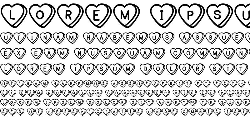 Sample of Sweet Hearts BV
