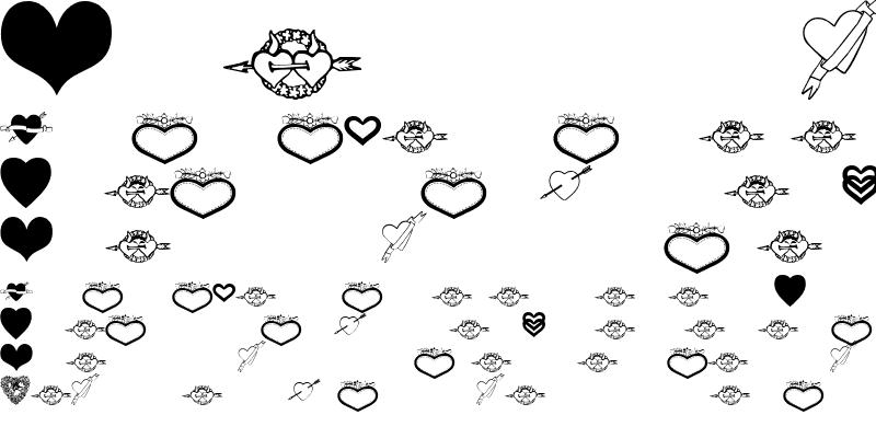 Sample of SweetHearts
