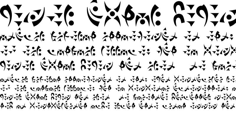 Sample of Tak'cha