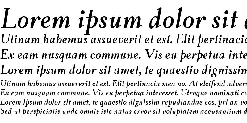 Sample of TaskBold Italic