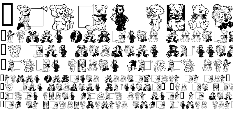 Sample of Teddies