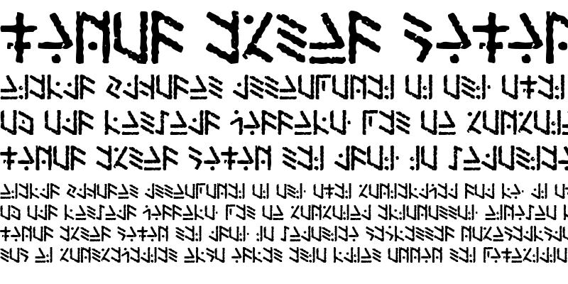 Sample of Temphis Brick