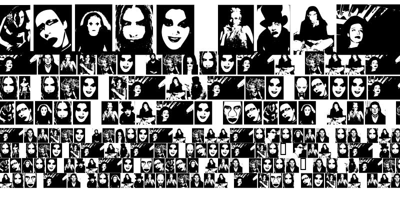 Sample of The Beautiful People