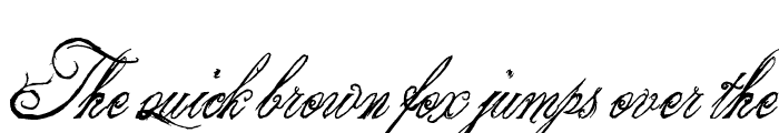 Preview of the King & Queen font Regular