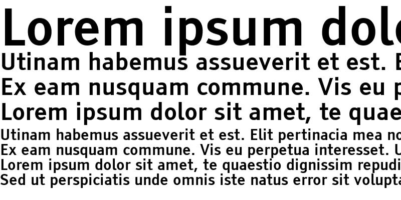 Sample of Tiresias Infofont Z Regular