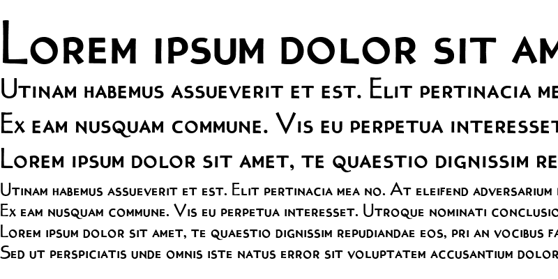 Sample of Tonic BoldSC