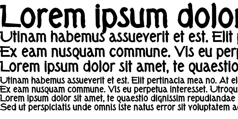 Sample of Tork Ink