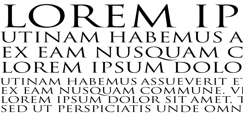 Sample of Trajan-Normal Ex