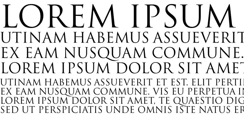 Sample of Trajan-Normal Regular