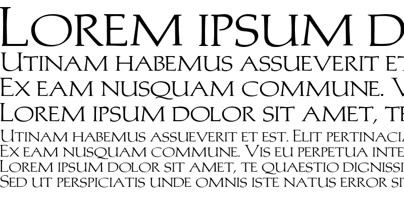 Sample of Trajans-Caps-Extended Normal
