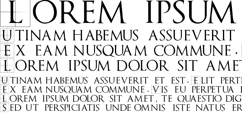 Sample of TrajanusBricks Regular