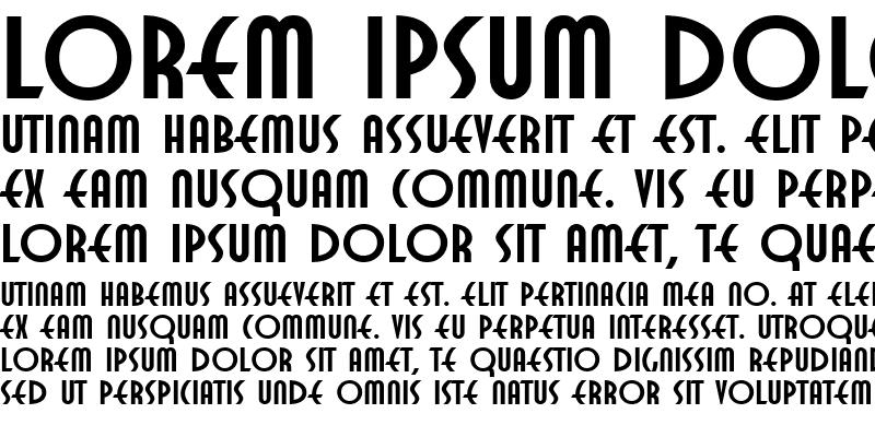 Sample of Twentieth Century Poster1 Roman