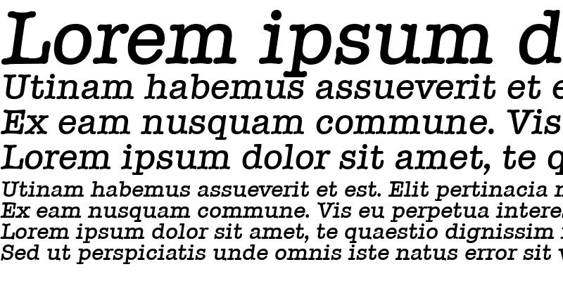 Sample of Typewriter-Serial-Medium