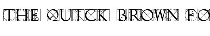 Preview of Typographer Caps Regular