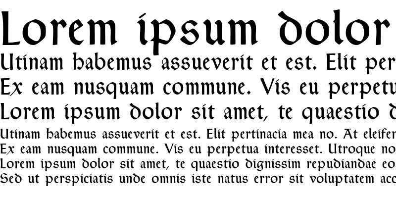 Sample of Typographer Rotunda